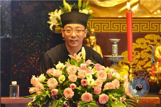 中国道教协会宣讲团到江苏茅山崇禧万寿宫巡回讲经
