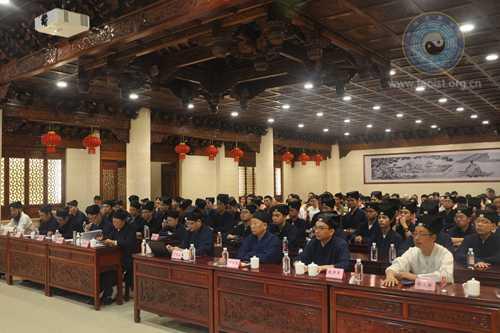 中国道教协会宣讲团在上海钦赐仰殿举行巡回讲经