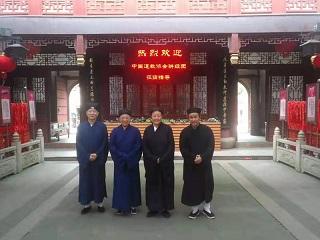 中国道协领导莅临上海三元宫坤道院指导工作