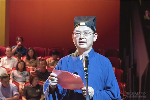 上海城隍庙合唱团参加上海市民族宗教界庆祝建国七十周年歌咏会
