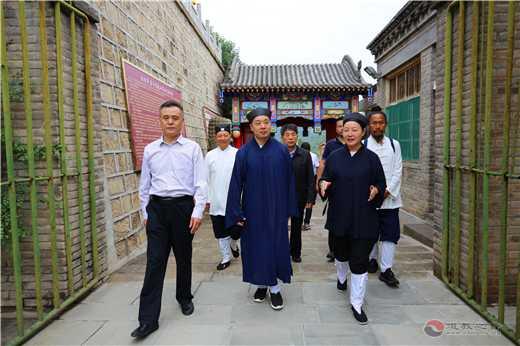 陕西省道协整改调研组赴延安、榆林、铜川进行专题调研