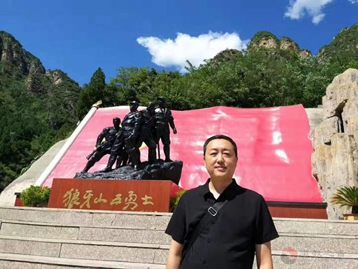 河北省政协组织驻保委员开展爱国主义主题教育活动