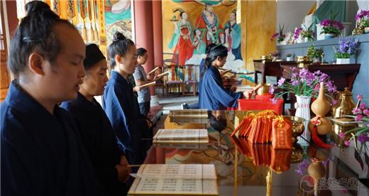 慈利县黄中宫纪念抗战胜利诵经祈福活动