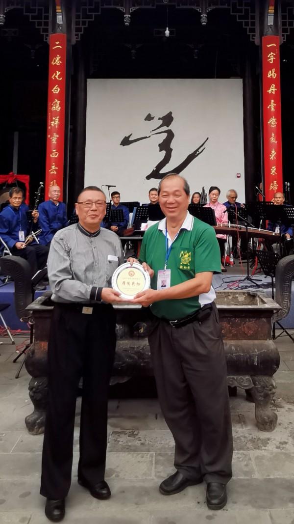 香港国际道乐团前往成都青羊宫交流汇演