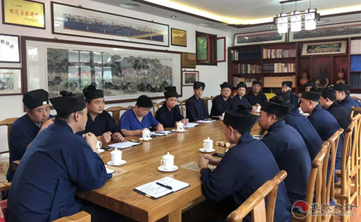 聊城市道教协会一届五次常务理事会(扩大)会议召开