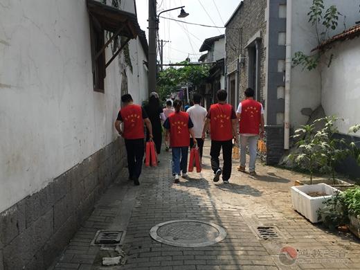 蘇州城隍廟慈愛功德會開展己亥年中秋慰問獨居孤寡老人活動