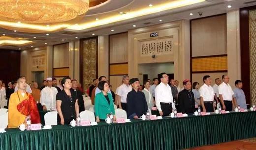 山东省宗教界举行庆祝中华人民共和国成立70周年主题活动