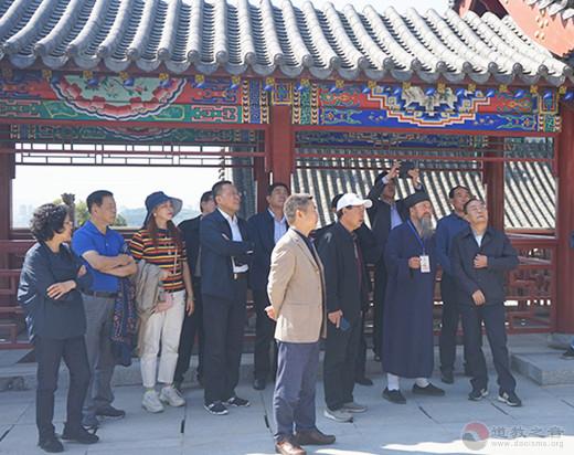 四川省政协副主席一行到北武当玄帝观参访