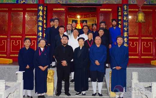 山西省道教协会副会长刘崇尧携省道协理事到居贤观进行参访交流