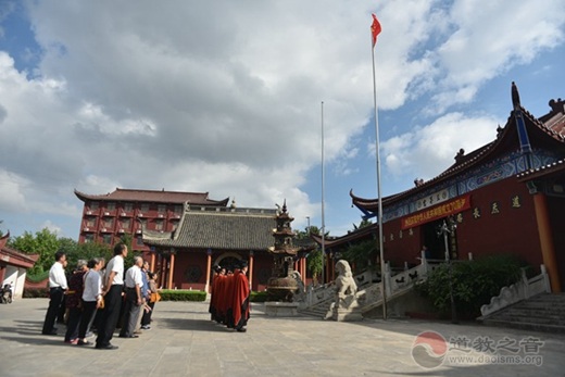 镇江市道教协会开展庆祝新中国成立70周年系列活动