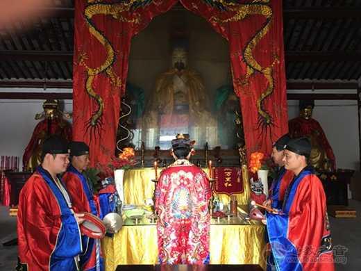 淮安市道教协会举行庆祝新中国成立70周年祈福法会活动