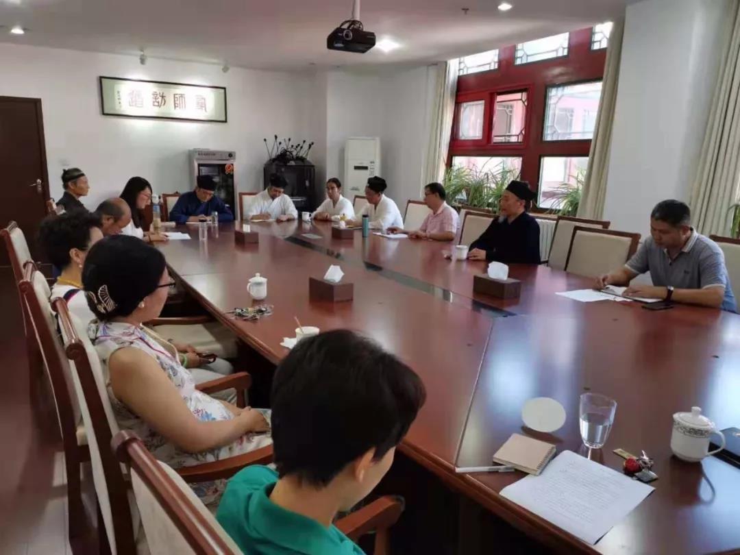 中国道教学院举行爱国主义学习教育座谈会