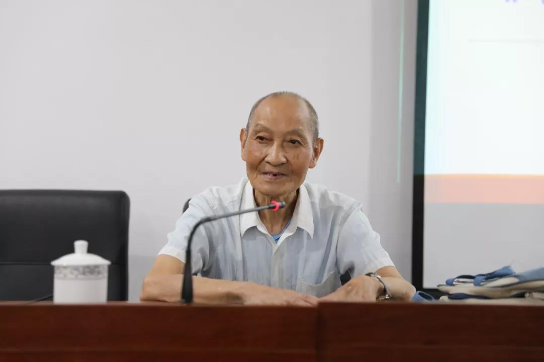 北京大学许抗生教授到中国道教学院作专题讲座