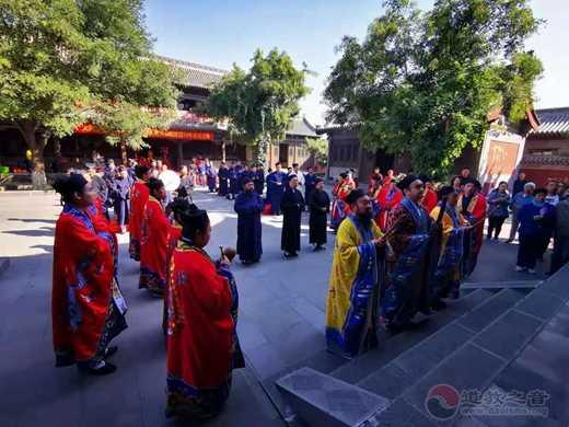 大同市道教协会举办庆祝中华人民共和国建国70周年祈福法会