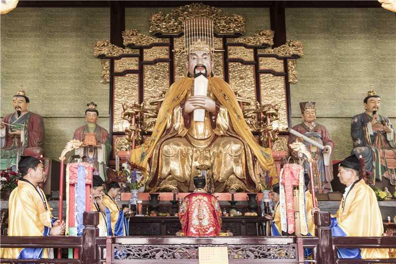 苏州常熟真武观举行庆祝中华人民共和国成立七十周年系列活动