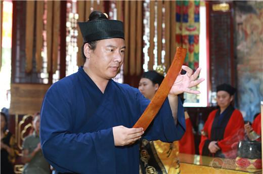 武汉长春观举行庆祝新中国成立七十周年祝国迎祥法会