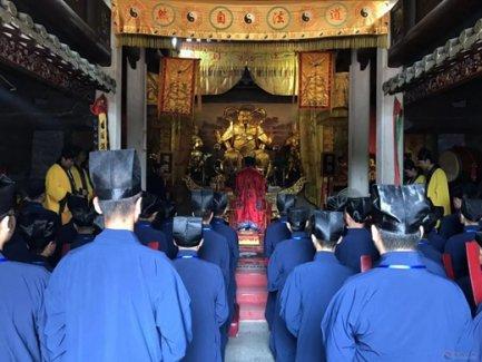 广东省第九届正一派道士传度活动在郭都真人古观圆满落幕