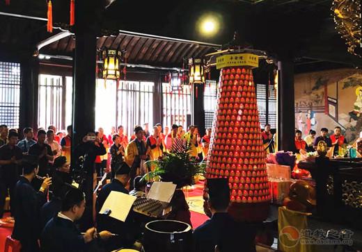 苏州市太仓天妃宫举办纪念妈祖羽化升天1032周年暨慈善周活动