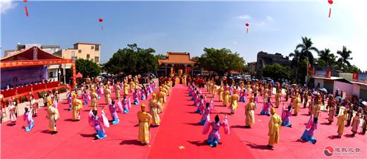 广东省陆丰市福山妈祖旅游区举行民俗文化活动