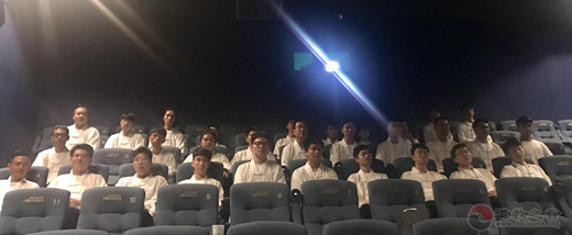 上海道教学院组织全体师生观看爱国主义教育电影
