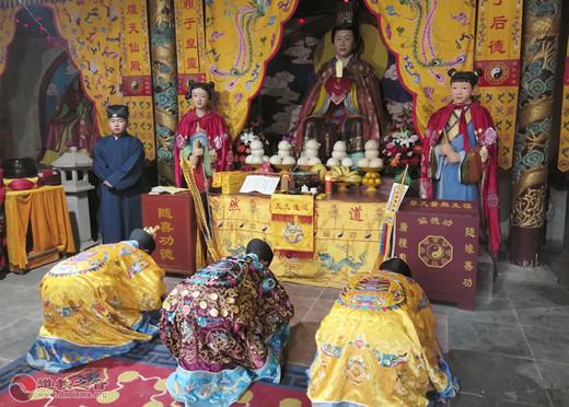 河北省易縣燕都太陽宮舉辦己亥年傳統廟會