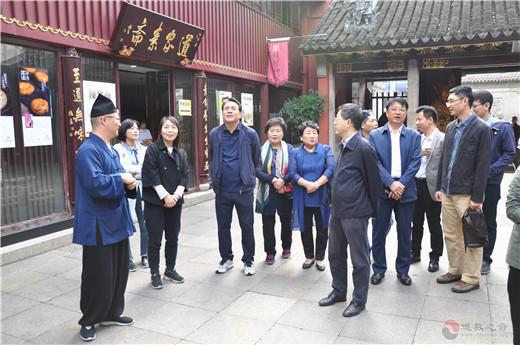 韓國釜山市紅十字會代表團參訪上海城隍廟