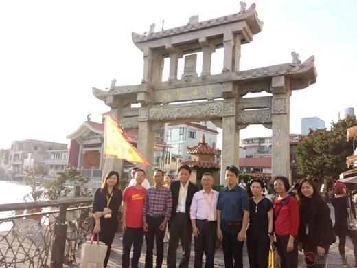 台中市文化局副局长曾能汀莅临朝宗宫参访