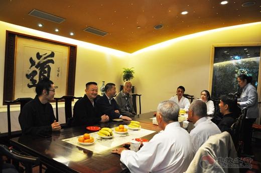 马来西亚道教总会参访团到上海城隍庙参访