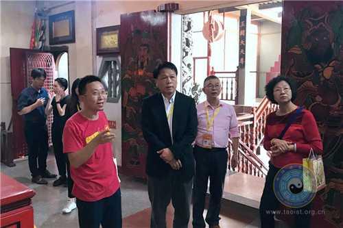 台湾参访团到厦门朝宗宫参访