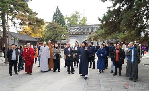 中国人民大学爱国宗教人士研修班学员参访中国道教协会