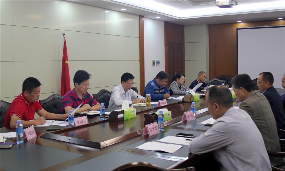 广西桂林市民宗委成员赴自治区民宗委汇报民族宗教工作情况