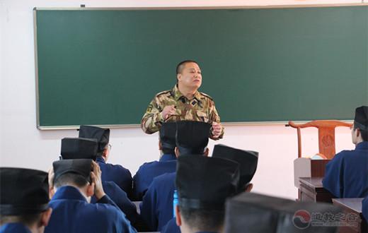 上海道教学院举行消防安全宣传培训活动