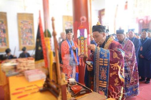 湖南省道协第七届正一派传度活动在娄底玄真观举行