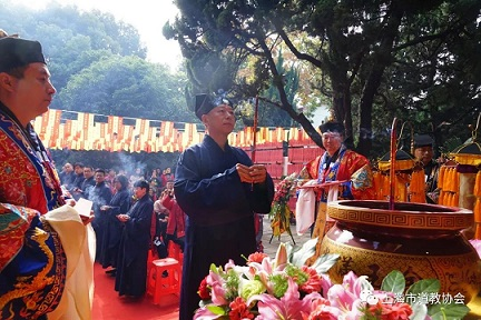 上海市嘉定城隍庙举行己亥年城隍华诞庆典