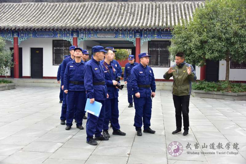 武当山道教学院开展秋冬季消防安全演练