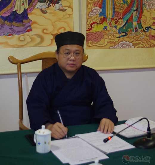 太原市道教协会召开2019年度第五次会长(扩大)会议