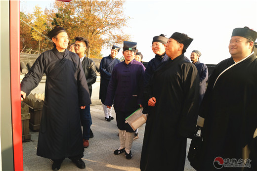 河南省道教协会召开道风建设现场观摩会