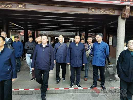 广州市道教协会学习考察团参访上海城隍庙