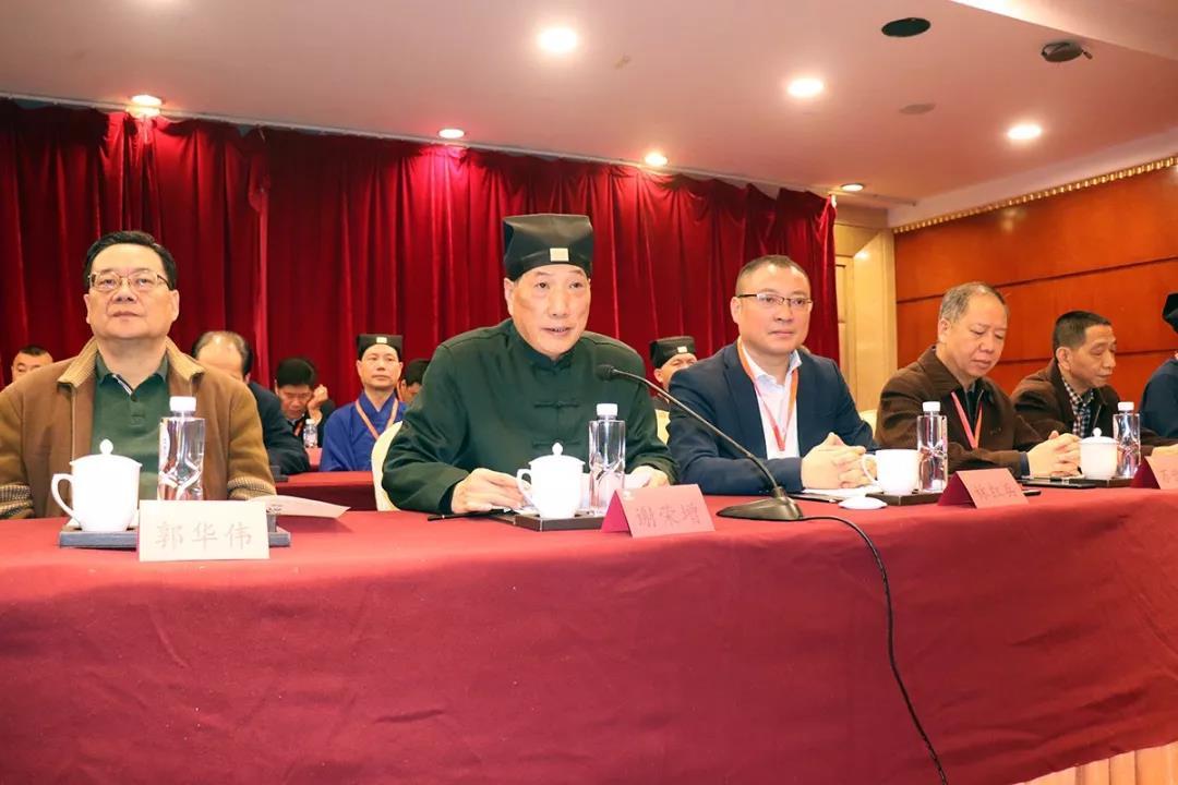 福州市晋安区道教协会换届选举圆满完成