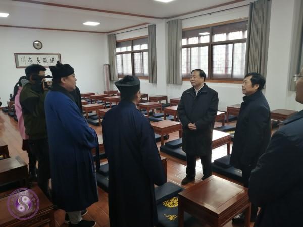 陕西省委常委、统战部长赴陕西道教学院及华山玉泉院调研