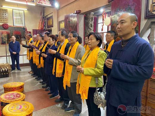 台湾寺庙金兰会一行赴厦门朝宗宫参访交流