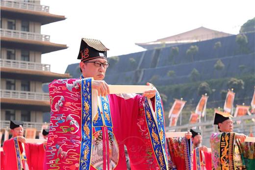 香港啬色园黄大仙祠参加2019世界神明联谊会