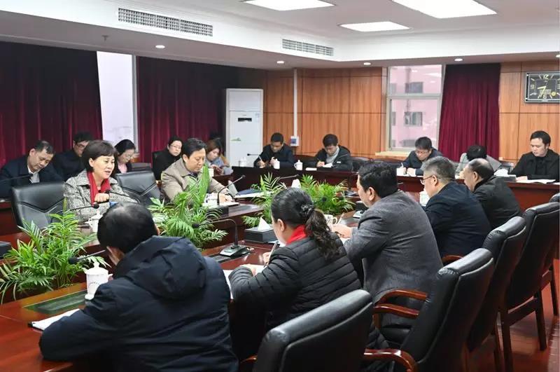 湖南省委常委、统战部部长黄兰香赴省民宗委调研并走访全省性宗教团体