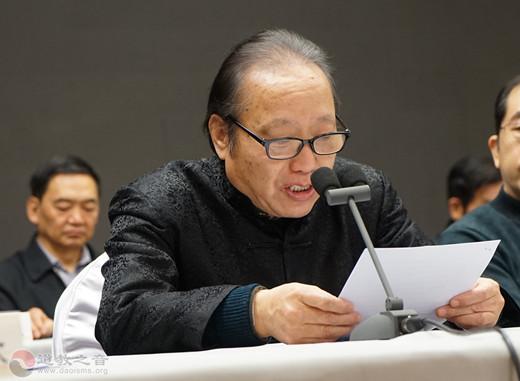 孟天宇先生介绍庆祝新中国成立70周年书画展概况  苏万顺先生作2019年工作总结和2020年工作展望