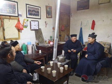 汉中市道教协会开展新春慰问活动