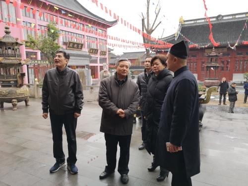 江苏省民宗委副主任一行检查南通市宗教活动场所安全工作