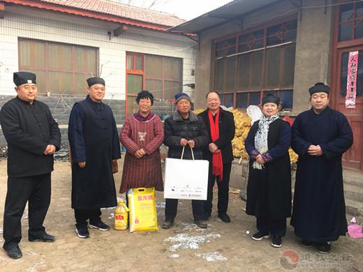 聊城市道教协会开展春节走访慰问困难群众活动