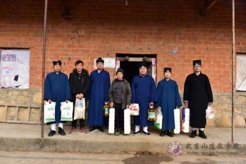 湖北省道教界开展新春送温暖活动