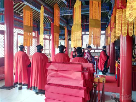 北京佑民观为新冠肺炎疫情患者及医护人员诵经祈福