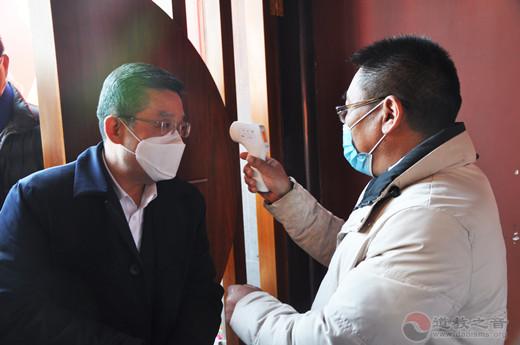 上海市委常委、统战部部长郑钢淼到上海城隍庙检查